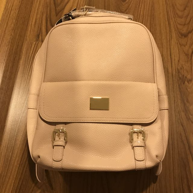 Leather Pink Renwick Backpack (35% OFF)