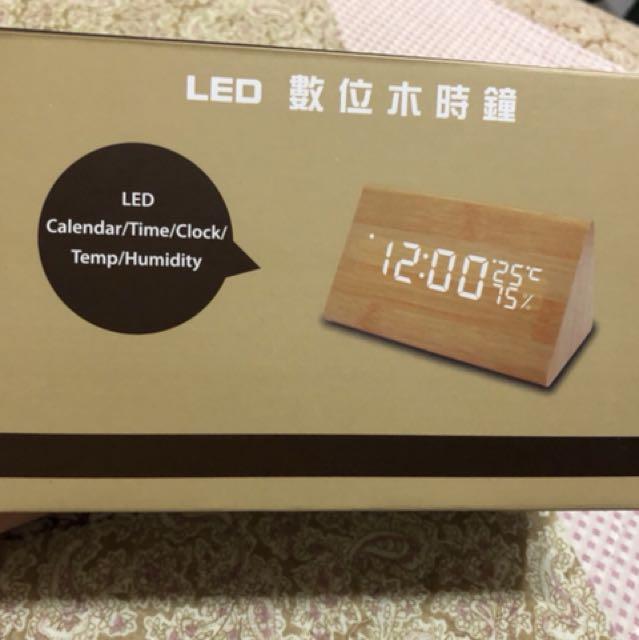 Led數位木時鐘