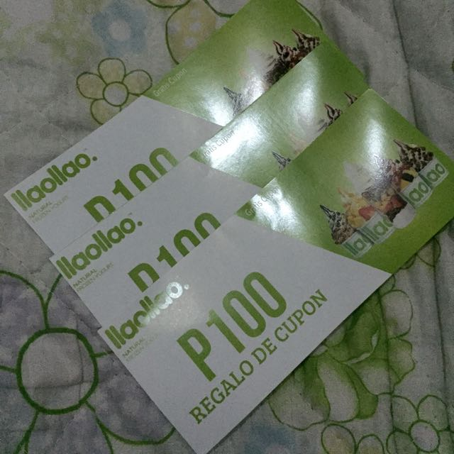 llao llao gift certificate