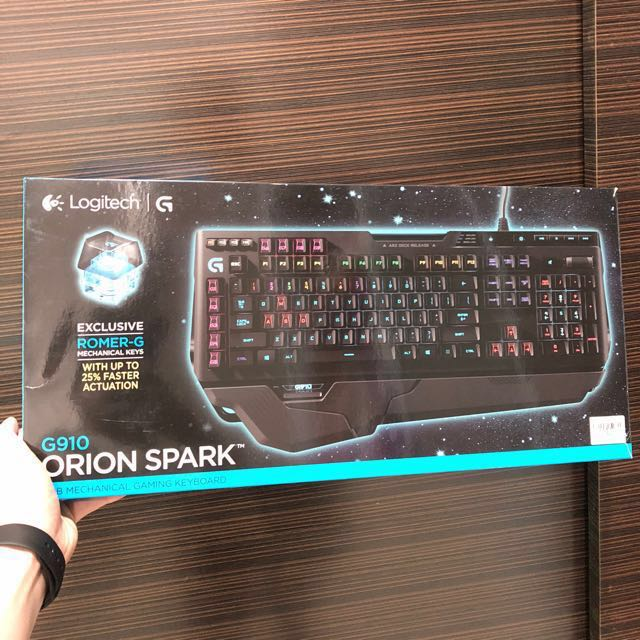 752794ab4f4 Logitech G910 Orion Spark gaming keyboard, Electronics, Computer ...