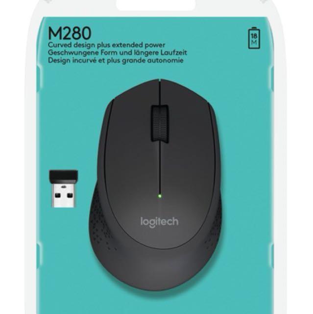 cede70cd3c9 Logitech Wireless Mouse M280 (Black), Electronics, Computer Parts ...