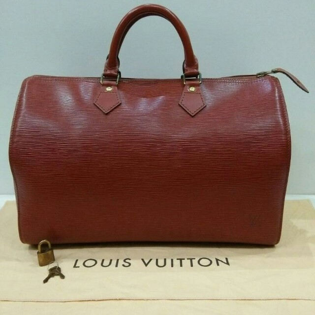e511abce26afe Louis Vuitton Speedy 30 epi leather brown, Luxury, Bags & Wallets on ...