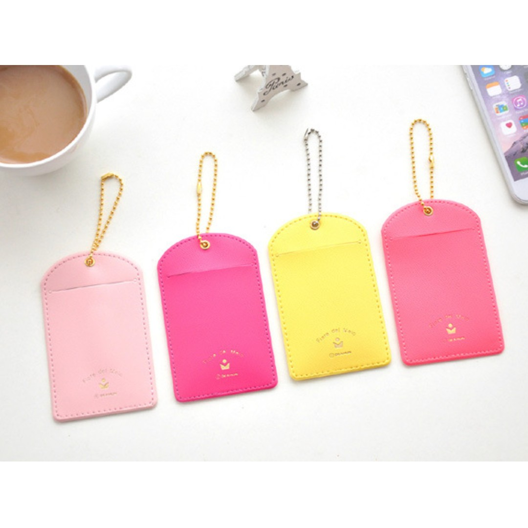 Luggage Card Suitcase Carry-On ID Tag B12807