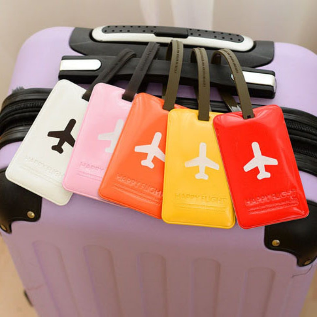 Luggage Tags Bag Tags Suitcase Labels for Travel B12806