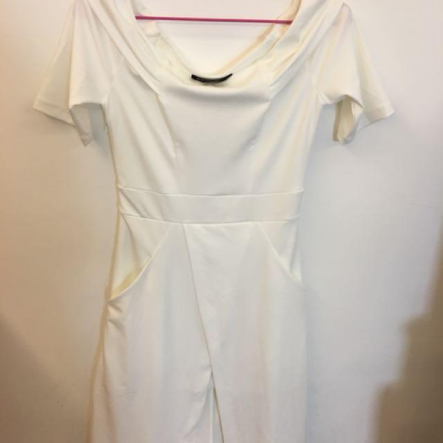 與范冰冰同款白色洋裝M碼