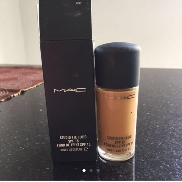 Mac Fluid Foundation
