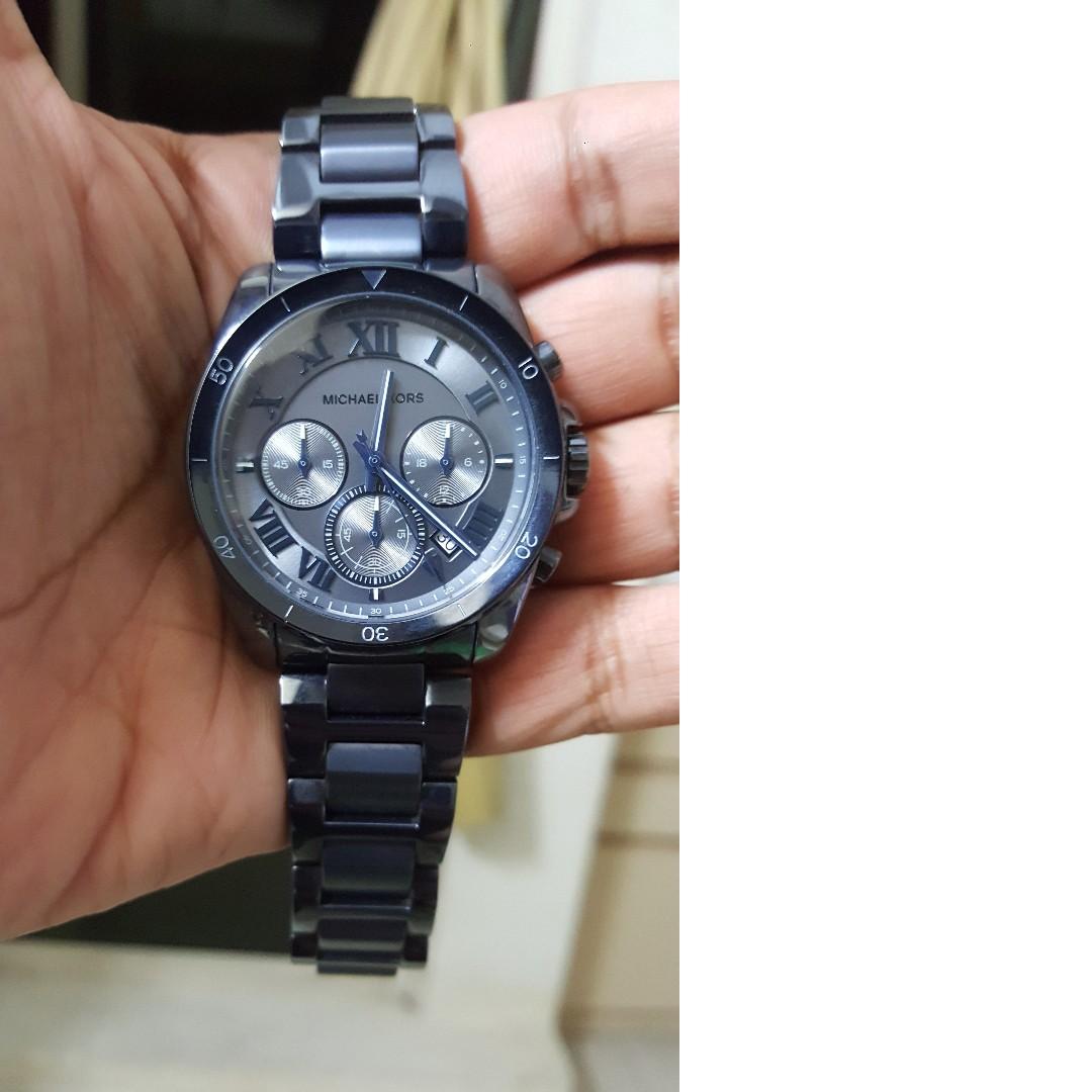 Michael Kors Brecken Mk6361 Unisex Watch Mens Fashion Watches On Casio Gshock Original Ga100mb 1adr Ga 100mb Carousell