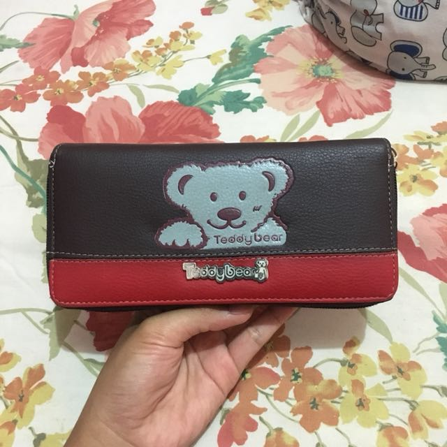 Milk teddy wallet