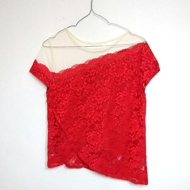 Mille Red Blouse