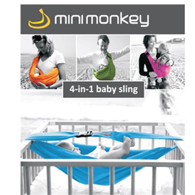 Mini Monkey 4 In 1 Baby Carrier Sling Bayi Kanak Kanak Lain