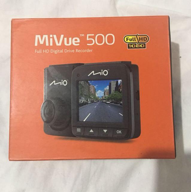 MiVue 500 dash cam