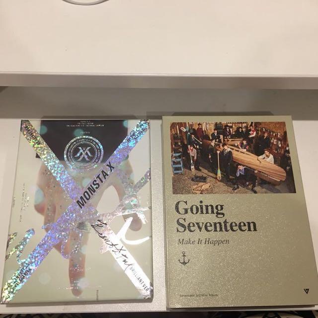 MonstaX and SVT Album