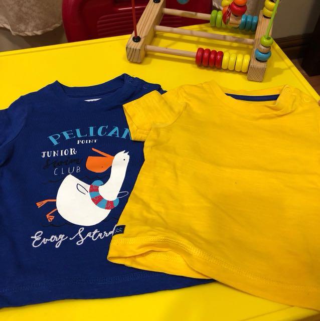 Mothercare Shirts 2pcs