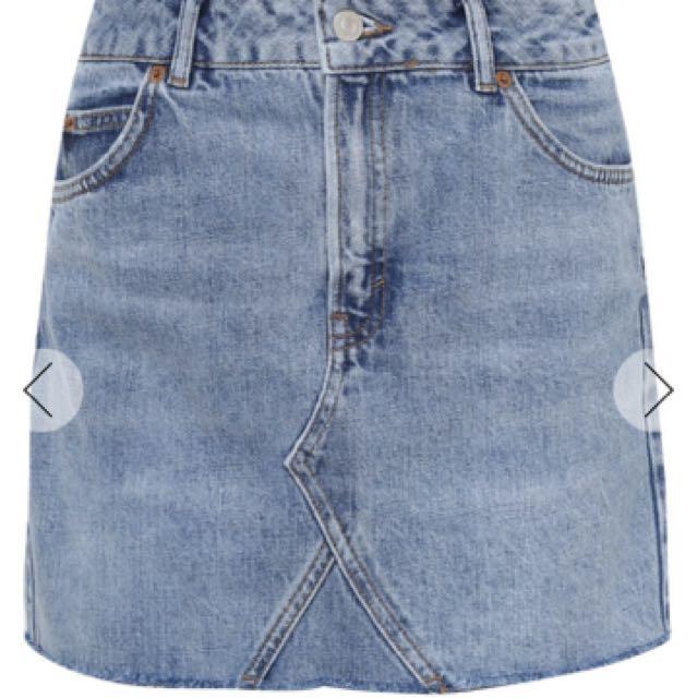 983db05798a Moto Mini Denim Skirt TOPSHOP, Women's Fashion, Clothes, Dresses ...