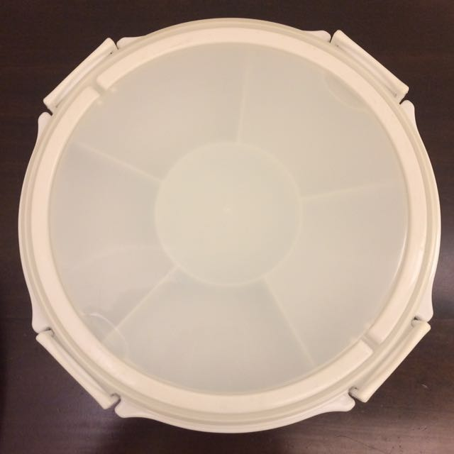 Multisection container / serving plate