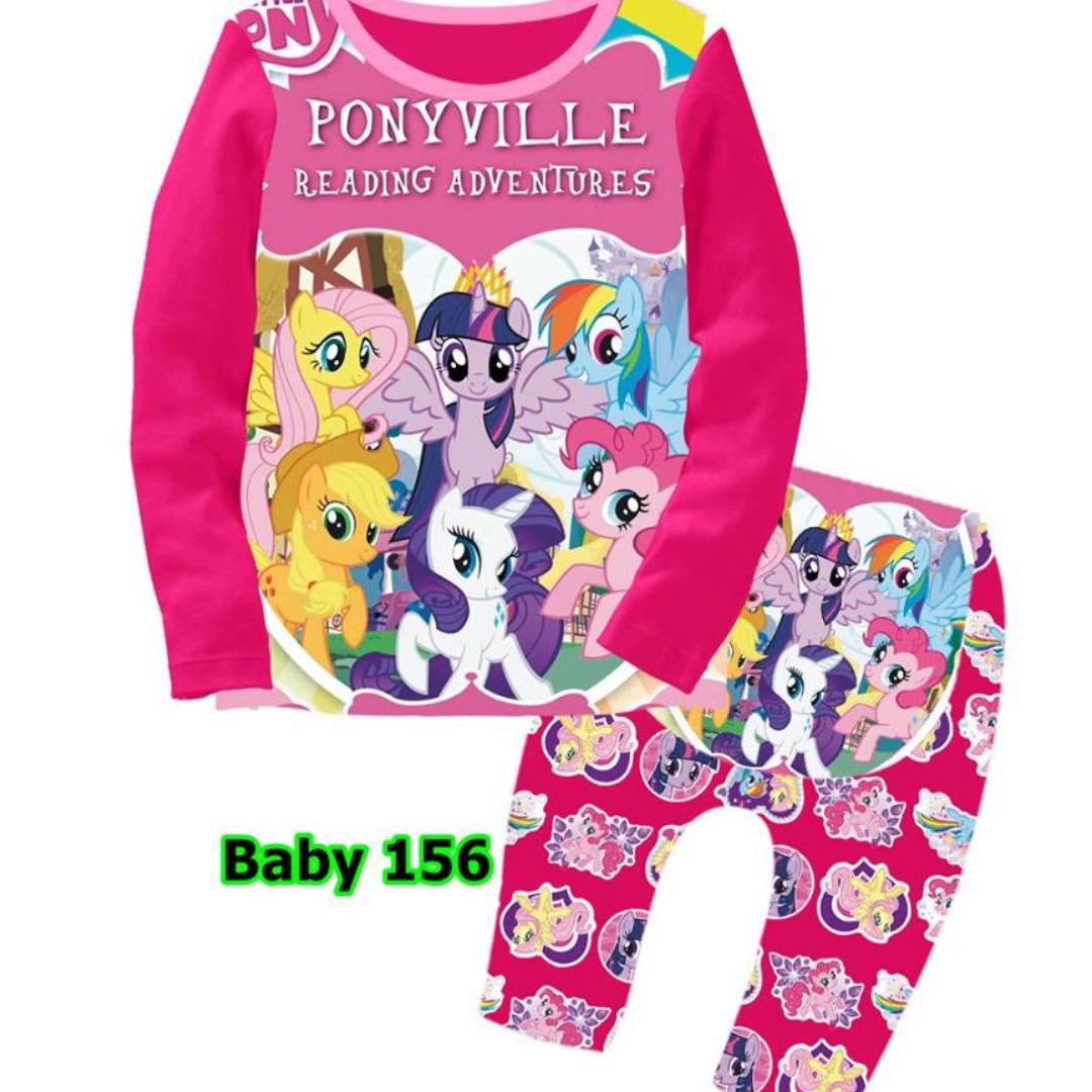 my little pony baby sloepwear set babies kids babies apparel on