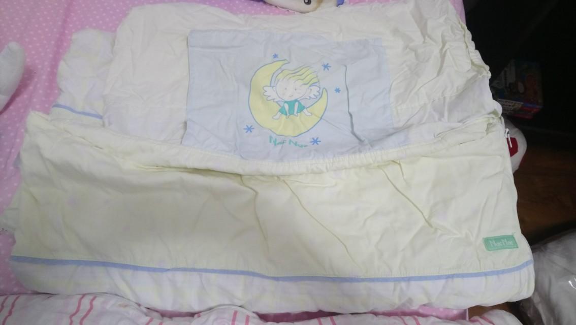 Nac nac 幼教睡袋 備有內胎棉被 另請自行購買小枕頭