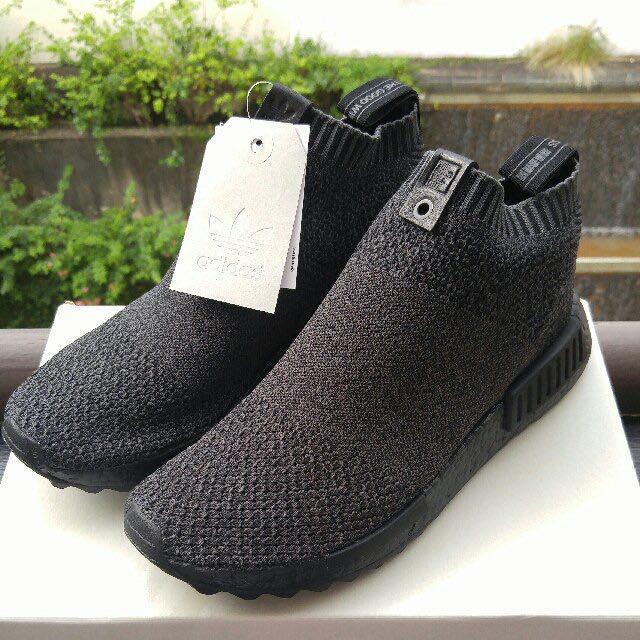 the latest 42a30 fdb80 NMD PK CS1 Triple Black Adidas X TGWO Consortium, Men's ...