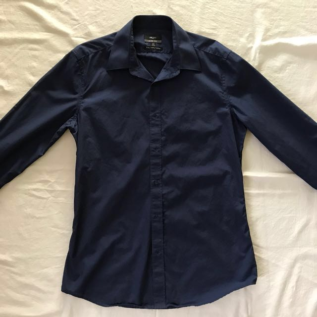 G2000 Navy Blue SlimFit Top