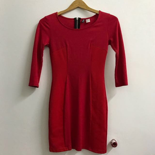 #CNY88 H&M Red Dress
