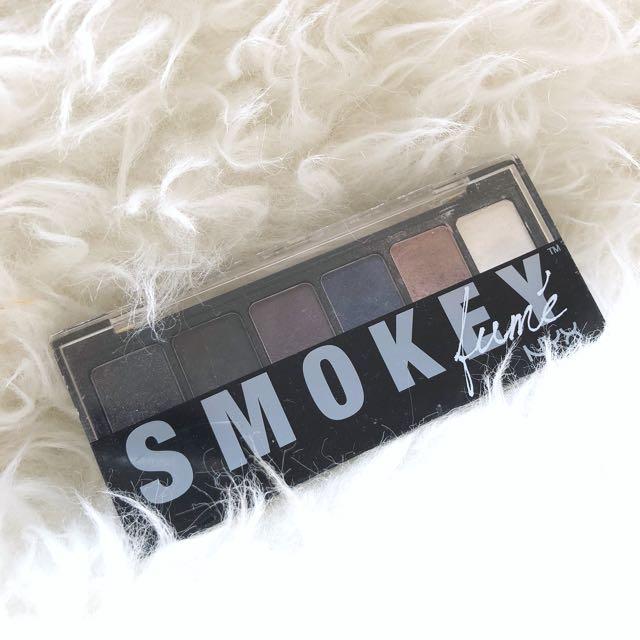 NYX smokey eyeshadow palletes