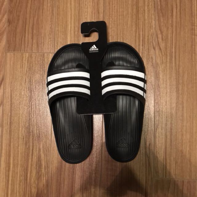 Originali Adidas Moda Duramo Diapositive (Nero), La Moda Adidas Maschile, Calzature In cc36b3