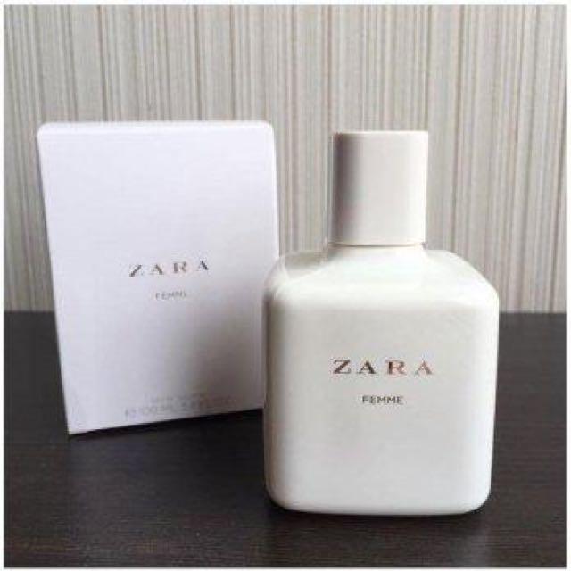 perfume zara femme precio