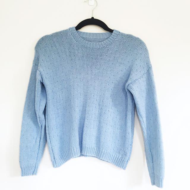 Periwinkle Knit
