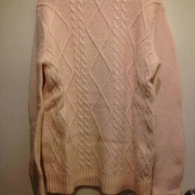 Pink F21 Sweater