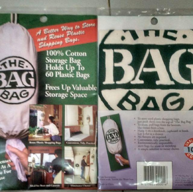 Plastic Bag Storage Dispenser