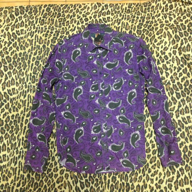 PPFM 紫色 變形蟲 襯衫