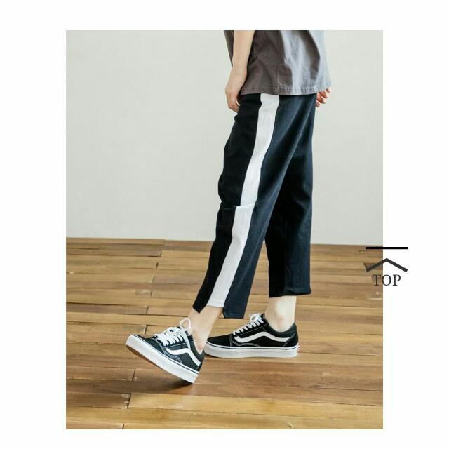 QUEENSHOP黑色棉褲