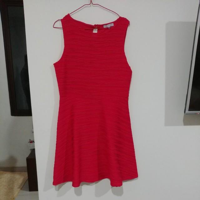 Redhearing pink dress size 14