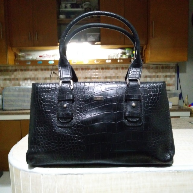 9fbf804509 REPRICED! Jag Black Leather Handbag