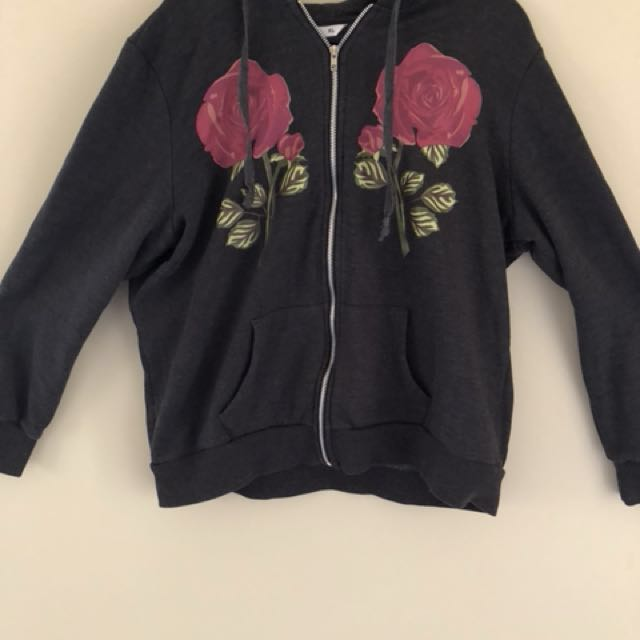 Rose gray jacket