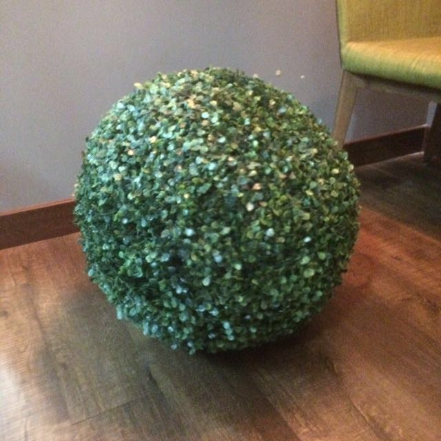 Round topiary artificial plant for deco  #NYB50
