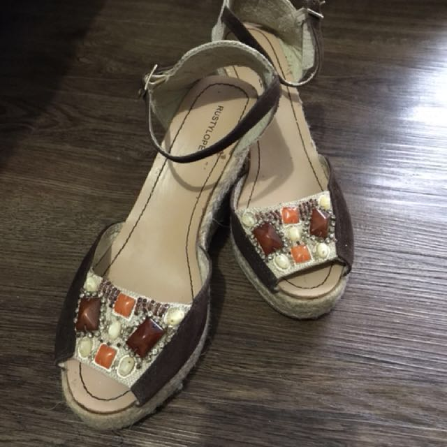 Rusty Lopez Wedge Shoes