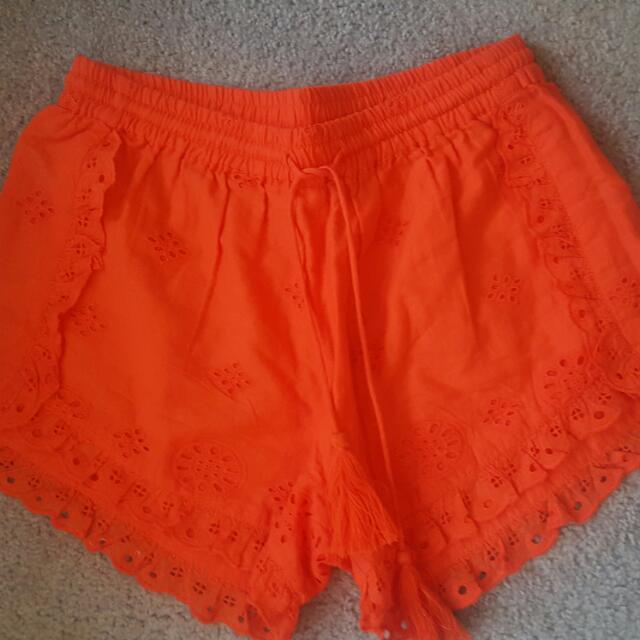 Seed Shorts Sz 6