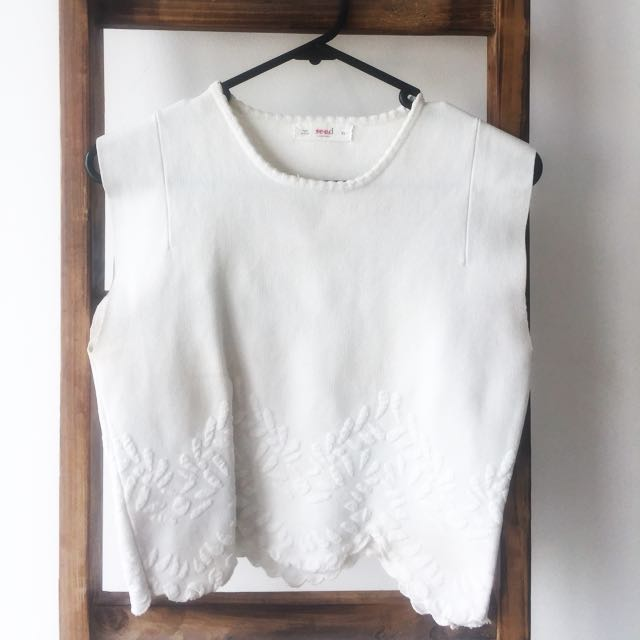 SEED WHITE CROP