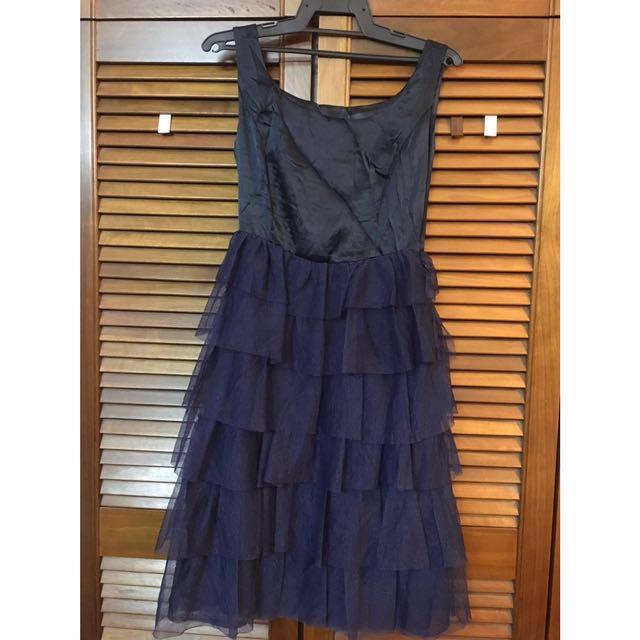Shimmer layered dress