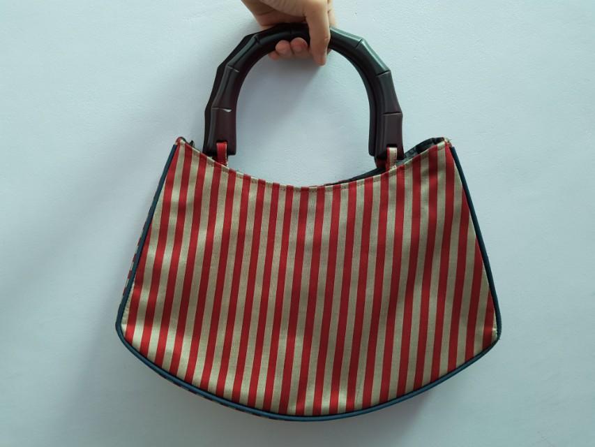 Silk handbag made in Vietnam