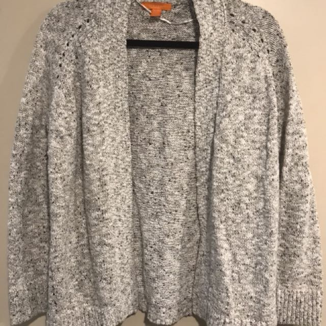 Size Medium - Open Knit Cardigan