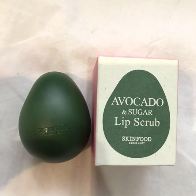 Skin food lips scrub