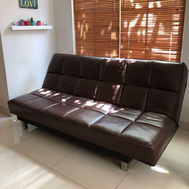 Sofa bed kulit pvc