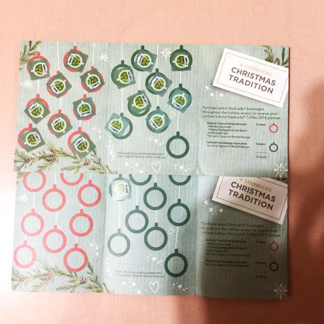 !!!SALE!!! STARBUCKS STICKER CARD