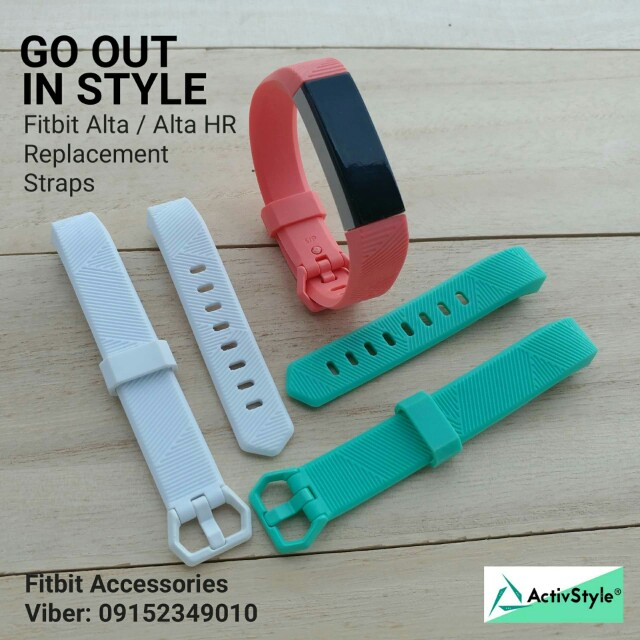 Start the new year right by setting your fitness goals! Reach them in style with these sets of straps for Fitbit Alta and Fitbit AltaHR.  3 Pc set replacement straps bands for Fitbit Alta HR