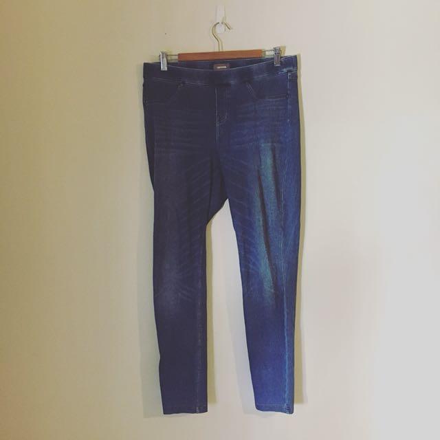 Sussan Denim Blue Jeans/Leggings