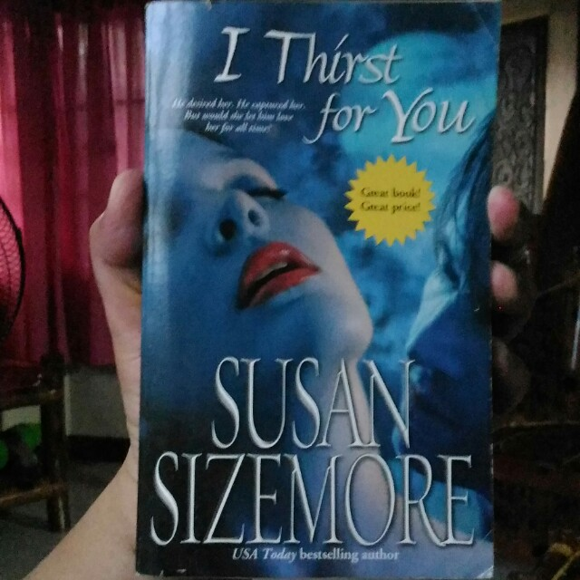 Susan Sizemore - I Thirst for You