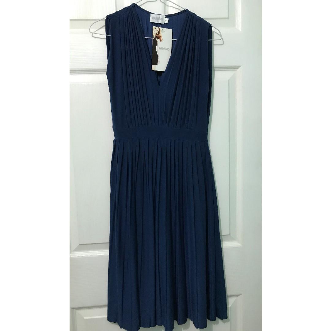 Tango Blue Midi Dress