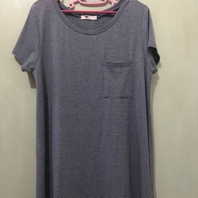 de64c54a TEMT striped tshirt dress, Women's Fashion, Clothes, Dresses ...